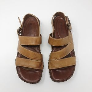 naturalizer Brown Strappy Sandals - Size 6